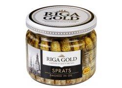 Riga Uzené sardinky v rostlinném oleji 250 g