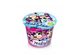 BIO Matylda jogurt s tvarohem malina 90 g