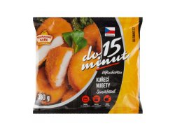 Vodňanské kuře Smažené kuřecí nugety 360 g