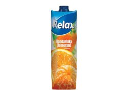 Relax Select mandarinka a pomeranč 1 l