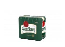 Pilsner Urquell Pivo ležák světlý 6x0,5 l