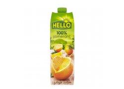 Hello 100% džus Pomeranč 1 l