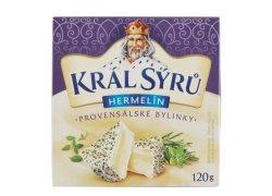 Král Sýrů Hermelín provensálské bylinky 120 g