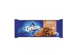 Orion Mléčná čokoláda s mandlemi 90 g