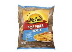 McCain 123 Fries Crinkle 750 g