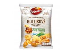 Bohemia Kotlíkové brambůrky jarní cibulka a…