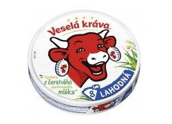 Veselá Kráva Lahodná tavený sýr 8ks 120 g