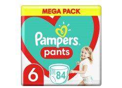 Plenkové kalhotky Pampers Pants Velikost 6…