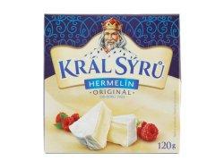 Král Sýrů Hermelín originál 120 g