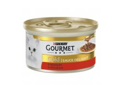 Gourmet Gold Sauce Delights s hovězím 85g