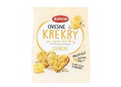 Emco Ovesné krekry se semínky a sýrem 100 g