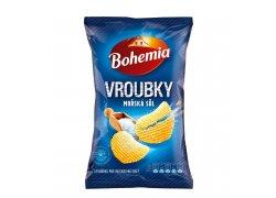 Bohemia Vroubkované s mořskou solí 130 g