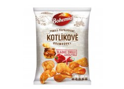 Bohemia Kotlíkové brambůrky sladké chilli a…