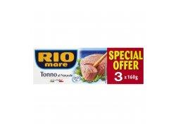 Rio Mare Tuňák ve vlastní šťávě 3x160 g