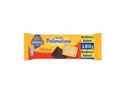 Opavia Zlaté Polomáčené sušenky hořké 180g