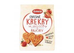 Emco Ovesné krekry se semínky a rajčaty 100 g