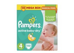 Pampers Active Baby-Dry velikost 4 (Maxi)…