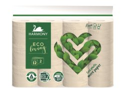 Harmony Toaletní papír Eco Loving 2vrstvý 12ks