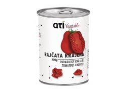 ATI Delicates Vegetable Rajčata krájená 400 g