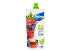 Relax 100% Pyré jablko-mrkev-banán-malina-jahoda-borůvka 120 g