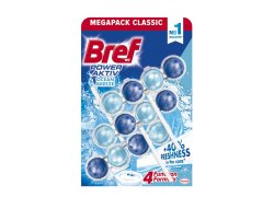 Bref Power Activ Fragrance Boost ocean tuhý WC blok 3x50 g