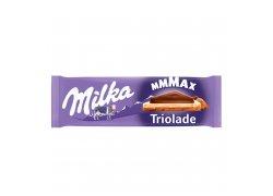 Milka Mmmax Triolade bílá, hořká a mléčná…