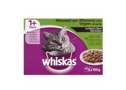 Whiskas Mixovaný výběr ve šťávě 12x100 g