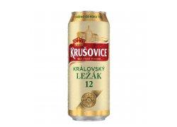 Krušovice 12° pivo ležák světlý 0,5 l