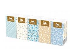 Harmony Soft Prima papírové kapesníky 3 vrstvy 10x10ks