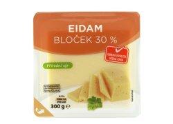 Globus Eidam bloček 30 % přírodní sýr 300g