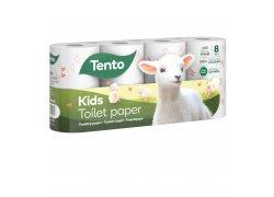 Tento Kids Toaletní papír 3-vrstvý 8ks