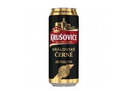 Krušovice Královské Černé pivo výčepní tmavé…