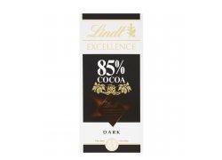 Lindt Excellence Hořká 85% čokoláda 100 g