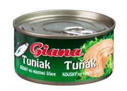 Giana Tuňák kousky ve vlastní šťávě 185 g