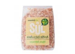 Country Life Sůl himálajská růžová hrubá 500…