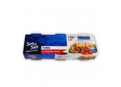Sun & Sea Tuňák v rajčatové omáčce 3x80 g