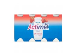Danone Actimel Probiotický nápoj jahoda 8x100 g