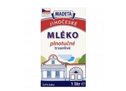 Madeta Jihočeské mléko trvanlivé plnotučné 3…