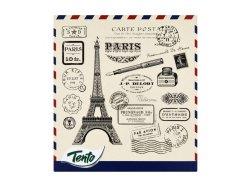 Tento Paris kapesníčky 3 vrstvé 58ks