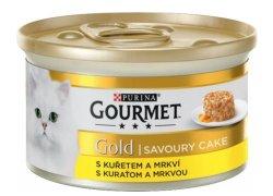 Gourmet Gold Savoury cake s kuřetem a mrkví…