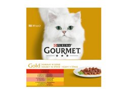 Gourmet Gold pieces in Sauce Multipack 8x85 g