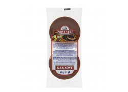Racio Nový Věk chlebíčky rýžové kakaové 60 g
