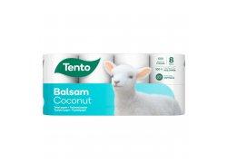 Tento Balsam Coconut Toaletní papír 3-vrstvý 8ks