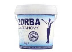 Zorba Smetanový jogurt bílý 1 kg