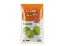 Globus Zelené olivy bez pecky 180g