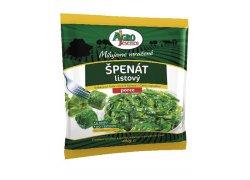 Agro Jesenice Špenátové listy porce 400 g